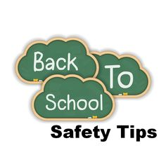 Back To School Safety Tips and back to school crafts for your locker, supplies and more! Washi tape pencils, tips and more! Walk To School, School Safety, National School, Chiropractic Care, Jumping For Joy, Safety Tips, Health And Safety, Bullying, Children