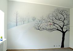 Tree bedroom Tree Bedroom, Bedroom Decor, Creative Ideas, Home Office, Dj, Trees, Life, Home Decor, Diy Creative Ideas