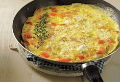 Ομελέτα με τυρί κρέμα και ντομάτα-featured_image