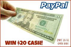 Need some extra cash? ENDS 10/29/15  --Of course you do- everyone does! Southern Krazed and Mom Does Reviews and happy to share this giveaway with you! What would you use your $20 for? Halloween will be over, but now it's time for Thanksgiving then Christmas...
