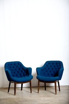blue chairs!