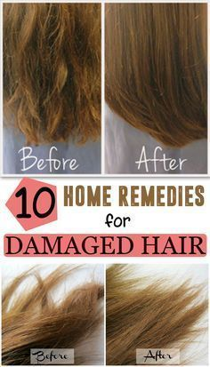 Your hair can become damaged for a variety of reasons. Here are the top 10 home remedies for damaged hair. Learn how to treat your hair!
