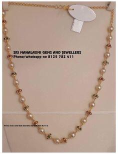 Antique Jewellery Designs, Beaded Jewelry Designs, Gold Jewellery Design, Pearl Necklace Designs, Gold Choker Necklace, Pearl Jewelry, Pearl Choker, Earrings, Gold Jewelry Simple