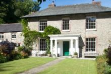 Gitcombe House, big, Georgian farm house, five star quality, for a self catering holiday, Devon, UK