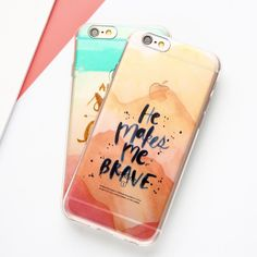 BRAVE Transparent Silicone Phone cases - iPhone 7 7 Plus 6 6S 6 Plus 5 5S SE    Turn heads and protect your valuable communication devices with our custom phone cases.     Our available options are incomparable to any store bought case on the market today with your choice of color, text, and graphics, with a glossy or matte finish.     Girl Boss Products and Merchandise | Buy Now | Free shipping on all orders