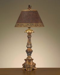"John Richard Website - 395""H Tuscan Clay Table Lamp Shade: 9"" X 18"" X 11"""