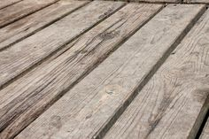 Old planked surface