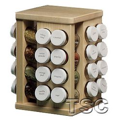Bed Bath And Beyond Spice Rack Captivating Lipper Bamboo 16Bottle Filled Spice Rack $2999 At Bed Bath And Design Decoration