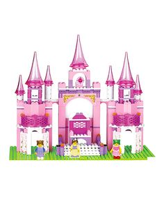 Look at this Princess Castle Block Set on #zulily today!