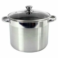 M.E. Heuck MEH 8Qt. Stockpot by M.E. Heuck. $43.99. Single 1/4 stereo headphone jack on front panel. Features one pair of stereo RCA input jacks on rear panel, and a 24V - 150mA DC power jack, for connection to included power supply adapter. Dimensions - 2H x 4W x 4D; weighs 12 ounces. Best suited for low impedance headphones - 30-300 ohms. ME Heuck 8 qt. Stainless Steel Stockpot - Encapsulated Bottom w/Glass Lid
