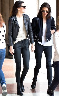Kendall Jenner from Stars at Milan Fashion Week Spring 2015 - Kendall Jenner Style