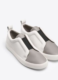 824abf1f8f86 My & Other Stories Spring wishlist | FOOTWEAR | Leather sneakers ...