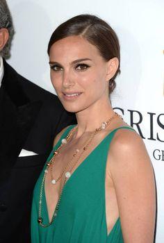 Le chignon bas de Natalie Portman au Festival de Cannes 2015