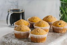 Peanut Butter Banana Protein Muffins are as easy to make as they are drool worthy. Heat them up with butter, freeze them for later. Pb2 Recipes, Peanut Butter Recipes, Peanut Butter Banana, Muffin Recipes, Baking Recipes, Protein Recipes, Recipies, Healthy Recipes, Banana Protein Muffins