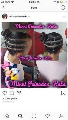 Girls Natural Hairstyles, Kids Braided Hairstyles, Little Girl Hairstyles, Cute Hairstyles, Natural Hair Styles, Outre Hair, Hair Due, Braids For Kids, Toddler Hair