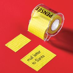 When you have more to say than a standard notepad can contain, you need a Memo Sticky Roll!  Love to try it!