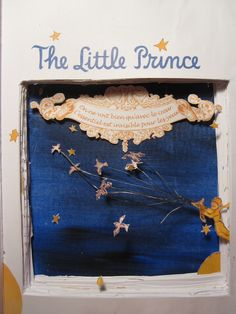 book art from the little prince