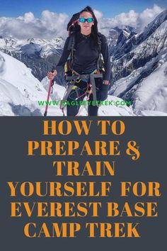 most effective ways preparing for your Everest Base Camp Trek.Everest Base Camp Trek is not technical and you don't need previous experience in altitudes. But it does demand some prior fitness trainings. Mount Everest Base Camp, Everest Base Camp Trek, Everest Mountain, Mountain Biking, Monte Everest, Rock Climbing Gear, Hang Gliding, Bungee Jumping, Hiking Tips