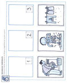 Logische volgorde Preschool Worksheets, Jaguar, Speech Therapy, Kindergarten, Homeschool, Gallery Wall, Bullet Journal, Learning, Pattern