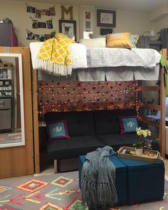 McCallie's dorm room at Belmont University.