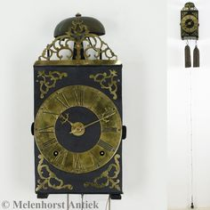 Comtoise messing ring uit ca. 1740