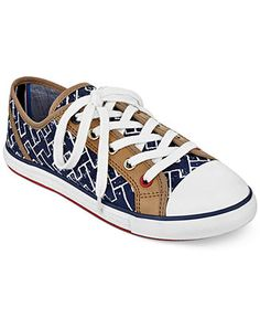 fab6ad5f5d Tommy Hilfiger Pamee 2 Logo Sneakers - Sneakers - Shoes - Macy s Tommy Shop