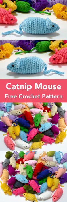 Cat Crazy Free Crochet Patterns – Krazykabbage