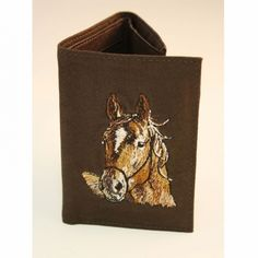 Trifold Wallet - Horse (Brown) - American Expedition