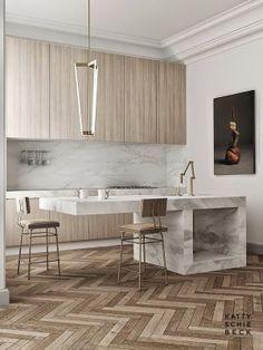 17 White Kitchen Designs Inpirations - Katty Schiebeck - Passeig de Gracia - designlibraryAU