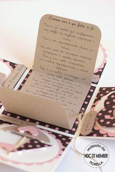 """Hobby di Carta - Il blog: CARD: """"Cardbox portasoldi"""" by Fiorella"""