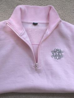 Monogrammed Sweatshirt- 10 Colors