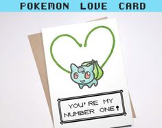 CHEEKY PIKACHU CARD Love Pokemon go greeting card I by ecolorty