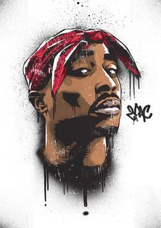 Art-Poster Rap and hip-hop - Tupac, by Bokkaboom Tupac Shakur, Hd Wallpaper Für Iphone, 2pac Wallpaper, Blood Wallpaper, Desktop Wallpapers, Arte Do Hip Hop, Hip Hop Art, Tupac Pictures, 2pac Images