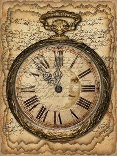 clock design ideas 478014947943541662 - Horloges , montres , reveils 93 Source by patochmass Decoupage Vintage, Decoupage Paper, Vintage Paper, Vintage Art, Vintage Labels, Vintage Ephemera, Paper Art, Paper Crafts, Foam Crafts