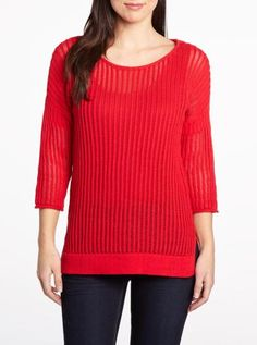 Open stitch sweater | Women| Shop Online at Reitmans