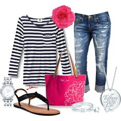 """""""Casual Tiffany"""" by jayneann1809 on Polyvore"""