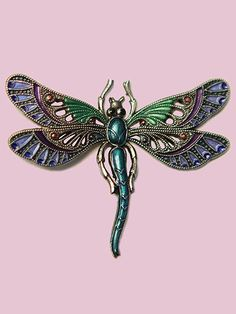 Susan Clarke - Dragonfly Button – Piecemakers Country Store