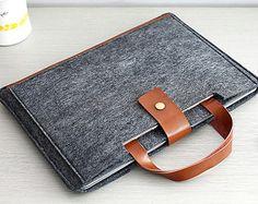 ipad case, Felt ipad air sleeve, unique ipad 2 covers - 100% Natural wool felt -for  ipad 1-4 air sleeve Nexus Kindle sleeve MA018 によく似た商品を Etsy で探す