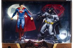 Mattel Reveals Batman VS Superman Products!