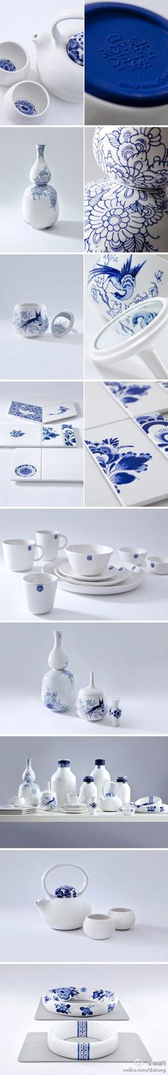 Blue D1653 by Royal Delft - ooh ooh ooh I love this. So classic & clean.