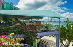 Spyglass Restaurant + Bar in Cruz Bay, St John, US Virgin Islands. www.onislandtimes.com