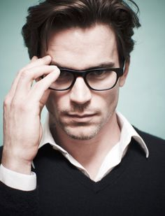 Matt Bomer - with glass