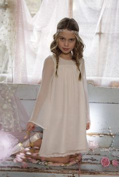 ilovegorgeous pearly-queen flowergirl dress - perfect for winter wedding