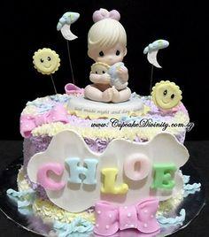Great Precious Moments Baby Shower Cake Idea. Precious Moment