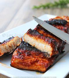Marinade Porc, Pork Rib Marinade, Marinade Sauce, Pork Ribs, Rib Sauce, Barbecue Ribs, Vinaigrette, Yummy Food, Meat