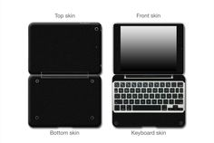 Give a new look and enhanced protection for your ClamCase Pro iPad Mini Enhance with an Antimicrobial Coating Light sandy texture with a matte industrial look Great way to protect and cover scratches