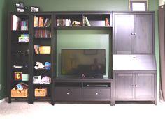 Ikea hemnes secretary desk don t need the additional bookshelves