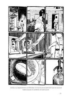 """""""...Volví a su departamento al mediodía. El ritual era de tal precisión que un suizo se habría sacado el sombrero de admiración..."""" Página 19 de """"Caza Mayor"""" en su versión ilustrada. #EduvimIlustrados"""