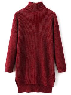 SHARE & Get it FREE | Turtle Neck Long Heather SweaterFor Fashion Lovers only:80,000+ Items • New Arrivals Daily • Affordable Casual to Chic for Every Occasion Join Sammydress: Get YOUR $50 NOW!