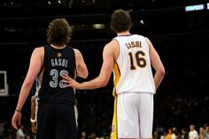NBA Brothers Marc and Pau Gasol